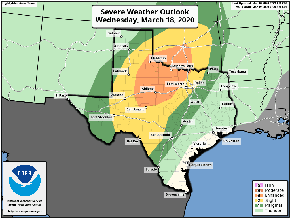 Enhanced Severe Weather Risk This Evening & Overnight ...