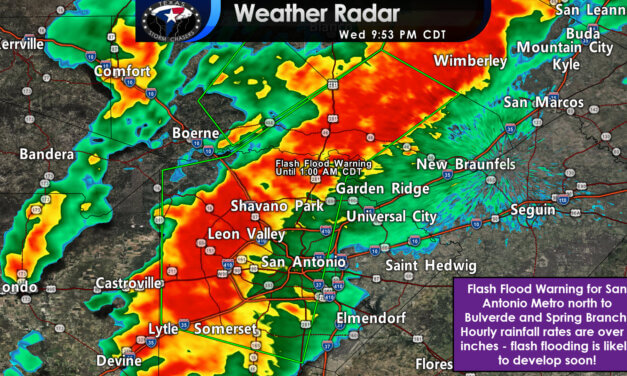 Flash Flood Warning Issued for San Antonio Metro