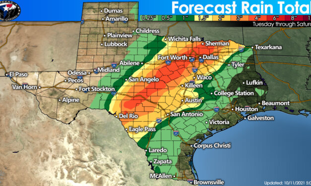 Thunderstorm chances return Tuesday night; heavy rain possible Wednesday & Thursday