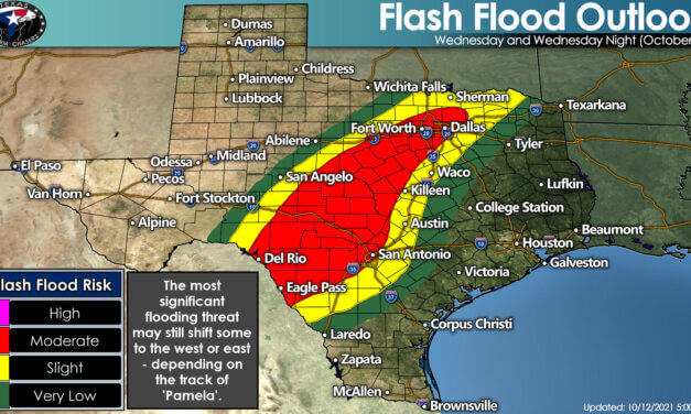 Showers and Storms Return Today through Friday with a Flooding & Severe Threat