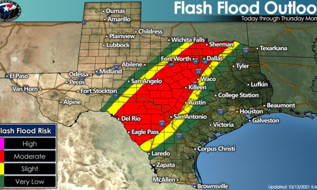 Heavy rain with flooding expected tonight across North & Central Texas + Hill Country